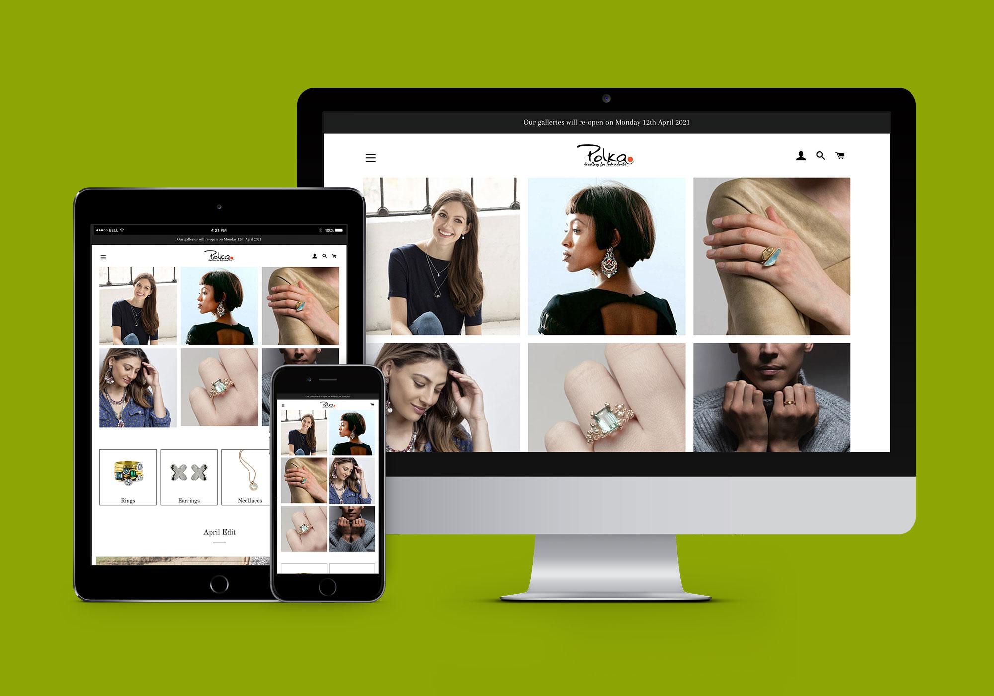 Shopify - Polka Dot Gallery